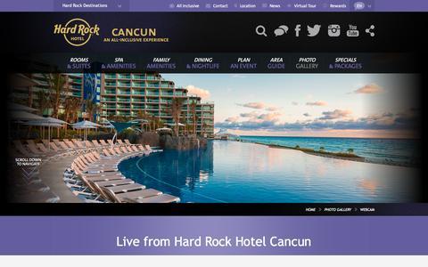 Webcam Hard Rock Hotel Cancun
