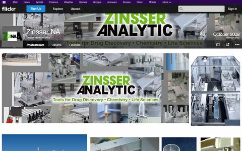 Screenshot of Flickr Page flickr.com - Flickr: Zinsser North America's Photostream - captured Oct. 27, 2014
