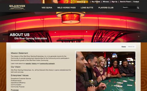 Screenshot of About Page wingilariver.com - About Us - Misc - captured Oct. 26, 2014