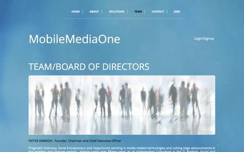 Screenshot of Team Page mobilemediaone.com - mobilemedia1 | TEAM - captured June 18, 2017