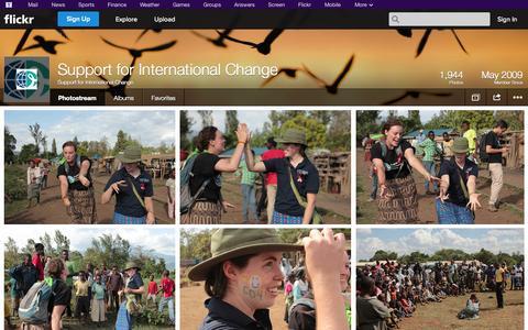 Screenshot of Flickr Page flickr.com - Flickr: Support for International Change's Photostream - captured Oct. 26, 2014