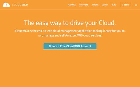 AWS Cloud Management for IT Service Providers | Amazon CloudMGR