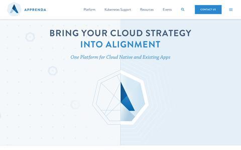 Apprenda: The Leader in Enterprise Platform as a Service