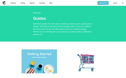 Guides Archives - Learning Resources - MailChimp