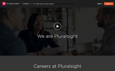 Careers | Pluralsight