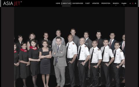 Screenshot of Team Page asiajet.com - ABOUT US | Asia Jet Partners Limited - captured July 26, 2016