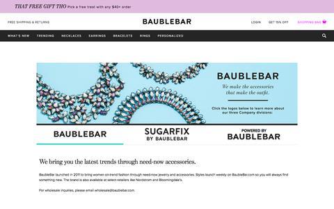 BaubleBar | BaubleBar