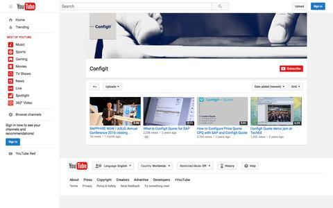 Configit  - YouTube