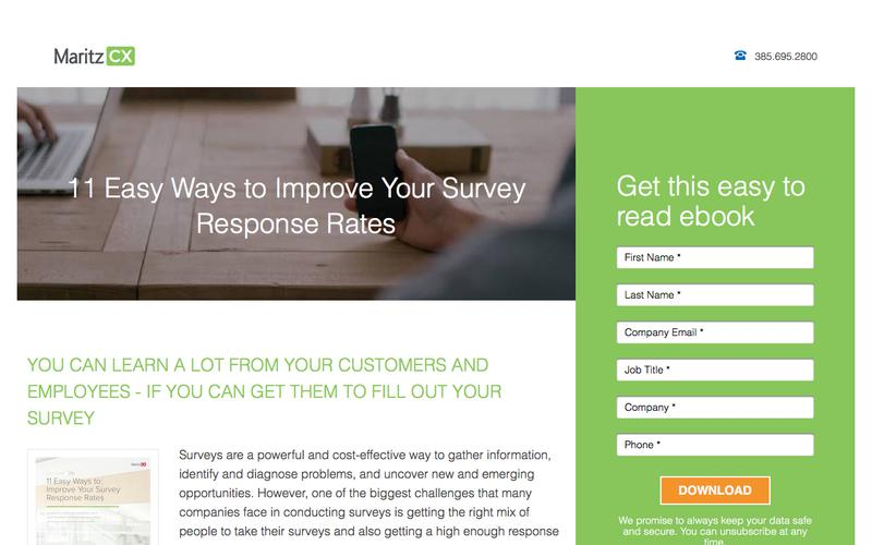 11 Easy Ways to Improve Your Survey Response Rates | MaritzCX