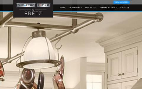 Screenshot of About Page fretz.com - The Fretz Corporation - Your Dream Kitchen Starts Here | Fretz - captured Jan. 8, 2016