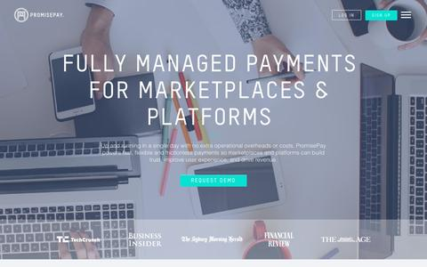 Payment Engine - Fully Managed Payments - PromisePay