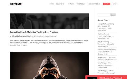 Search Engine Marketing Archives | Kompyte