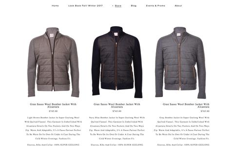 Gran Sasso — Uomo San Francisco | Designer European Luxury Menswear and Accessories