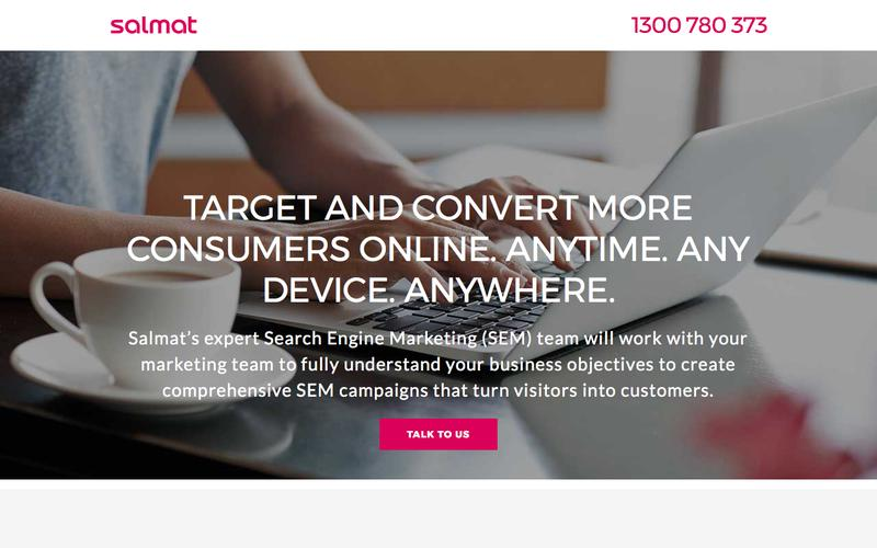 Customised SEM campaigns to boost your sales | Salmat