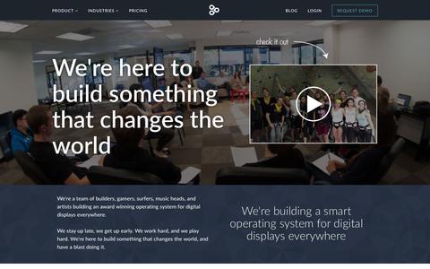 Screenshot of Team Page enplug.com - Team | Enplug - captured July 3, 2015
