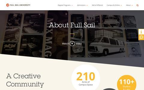 About - Full Sail University