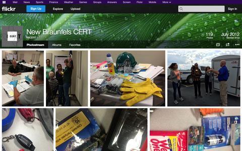 Screenshot of Flickr Page flickr.com - Flickr: NBCERT's Photostream - captured Oct. 23, 2014