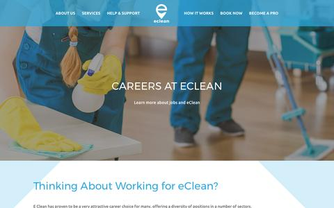 Cleaning Jobs at cClean - UK's #1 Online Cleaning Company
