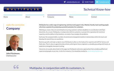 Screenshot of Team Page multipulse.com - Company | Multipulse - captured Oct. 18, 2018