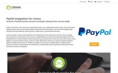 PayPal - Litmos