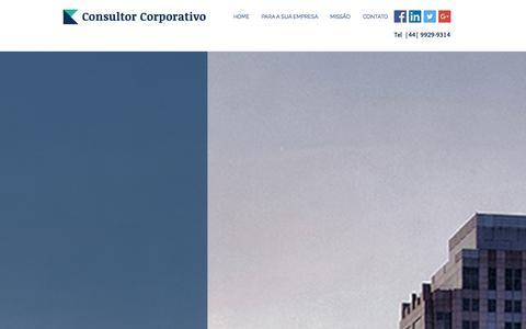 Screenshot of Home Page bbrasil.info - consultor - captured Jan. 24, 2016