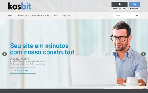Hospedagem de sites, desenvolvimento e suporte profissional! - Kosbit