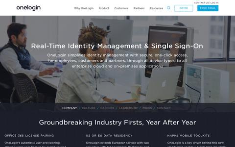 Identity Management Vendor | OneLogin