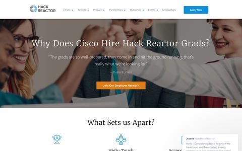 Employer Partnerships & Career Network   Hack Reactor