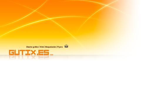 Screenshot of Home Page gutix.es - www.GuTiX.es - captured Sept. 11, 2015