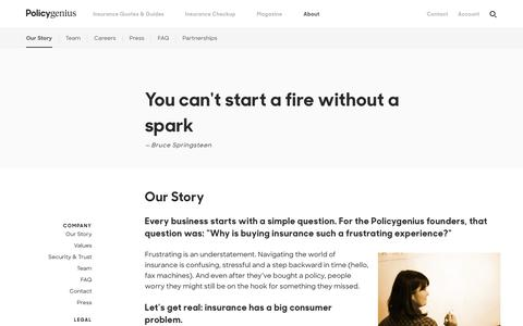 Our Story | Get insurance advice, compare quotes & buy