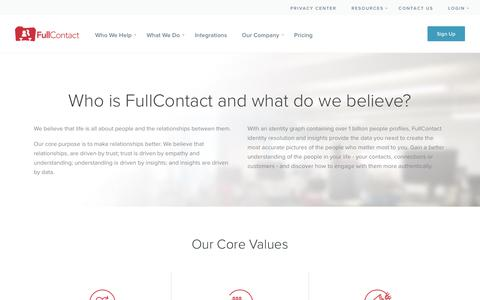 About the FullContact Team - FullContact