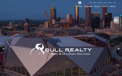 Screenshot of Home Page bullrealty.com - Welcome to BullRealty.com - captured June 2, 2017