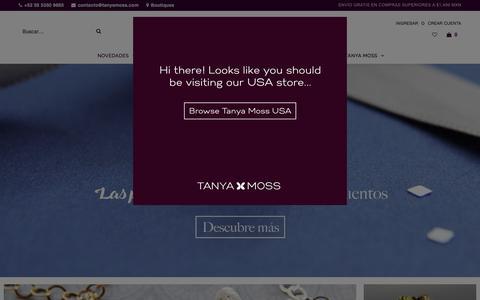 Tanya Moss | Joyería de Oro y Plata | Tienda en Línea