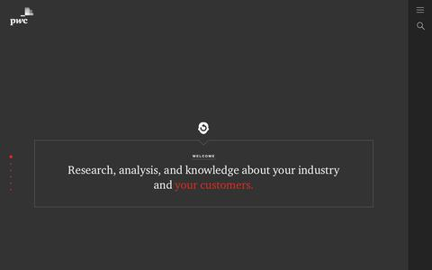 Our Thinking | Industry Research & Analysis | PwC Digital Services