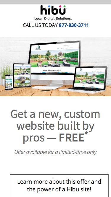 Get a New Website FREE