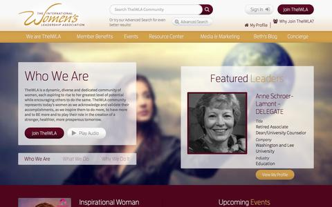 Screenshot of Contact Page theiwla.com - The darkest hour…. - TheIWLA - captured Oct. 9, 2014