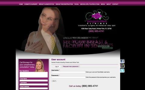 Screenshot of Login Page lookandfeelbetter.com - User account   Look and Feel Better - captured Oct. 26, 2014