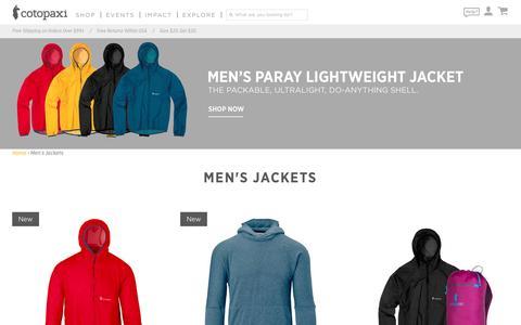 Men's Jackets – Cotopaxi