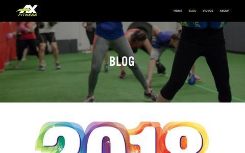 Blog — AX Fitness