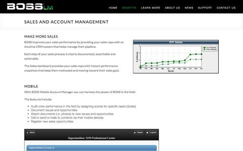 Sales and Account Management |