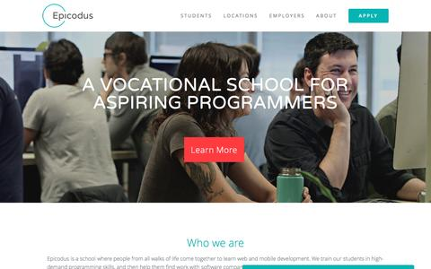 Epicodus | A vocational school for aspiring programmers