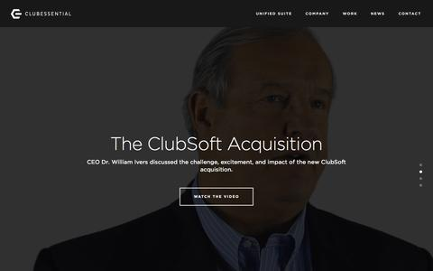 Clubessential LLC | Private Club Web & Accounting Software - Clubessential.com 2015