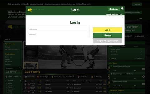 BetHard - Sports betting and casino