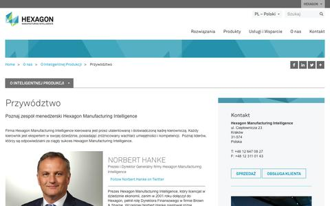 Screenshot of Team Page hexagonmi.com - Przywództwo  | Hexagon Manufacturing Intelligence - captured Oct. 21, 2018
