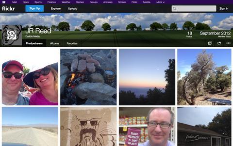 Screenshot of Flickr Page flickr.com - Flickr: Daddio Media's Photostream - captured Oct. 23, 2014