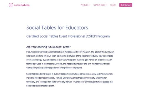 The Social Tables Community: Connecting with Event Professionals