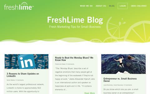 Blog - FreshLime