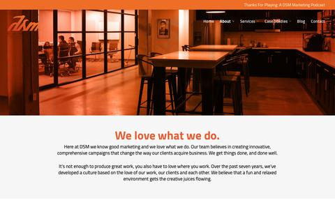 Screenshot of Jobs Page thedsmgroup.com - DSM: Marketing, Design, Account Management Careers in NJ - captured May 13, 2019