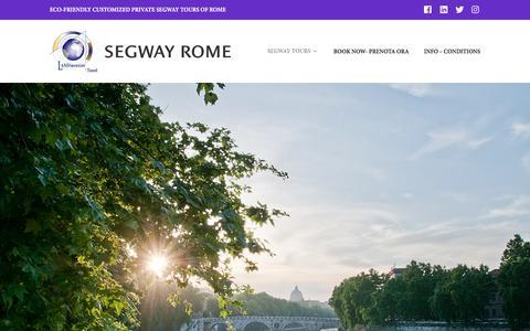Screenshot of Contact Page segwayrome.it - Contact – SEGWAY ROME - captured May 28, 2017