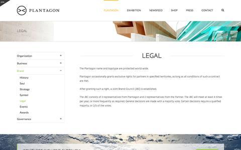 Screenshot of Terms Page plantagon.com - Legal - Plantagon - captured Nov. 8, 2016